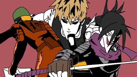Adventure Quest Anime Characters Jojo Wallpapers And Handrawn One Punch Op With Jojo Crossover