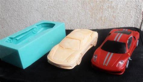 silicone moule ferrari voiture sugarcraft cake decorating