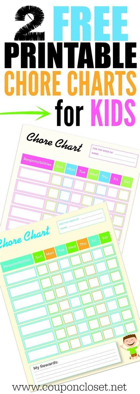 household chores chart ideas  pinterest daily chore list house cleaning charts