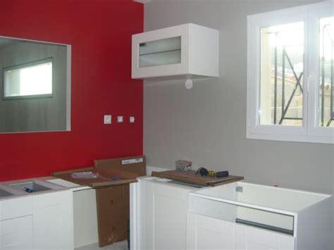 cuisine mur gris cuisine avec mur gris