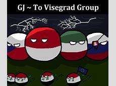 Visegrad group Countryballs