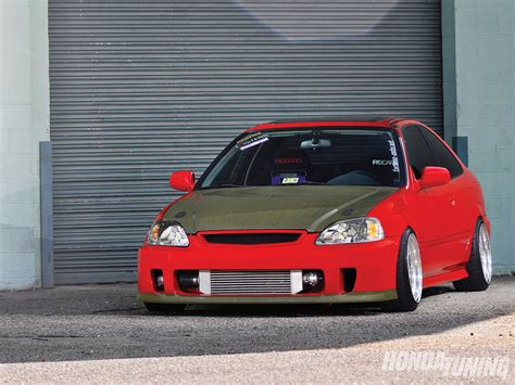 Modified Honda Civic Wallpapers by Honda Civic 2000 Modified Hd Wallpaper Background Images