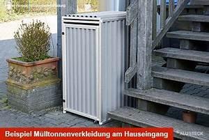 Mülltonnenverkleidung Selber Bauen : m lltonnenverkleidung hauseingang m lltonnenbox selber ~ Watch28wear.com Haus und Dekorationen