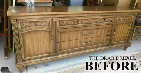 Drexel Sideboard by Painting New Into A Drab Drexel Buffet Sideboard