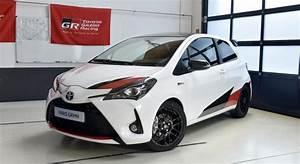 Avis Toyota Yaris : toyota yaris grmn 2018 essai video la yaris qui fait grrrrr prototype avis technique ~ Gottalentnigeria.com Avis de Voitures