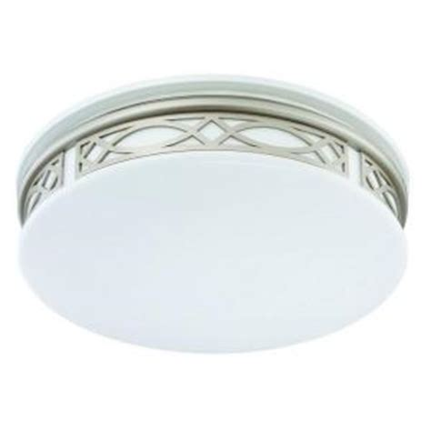sylvania 3 light flush mount ceiling silver led indoor