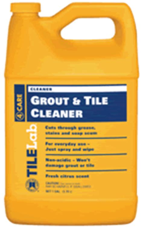 tilelab grout and tile cleaner and resealer floor care maintenance products shaw bruce cleaner