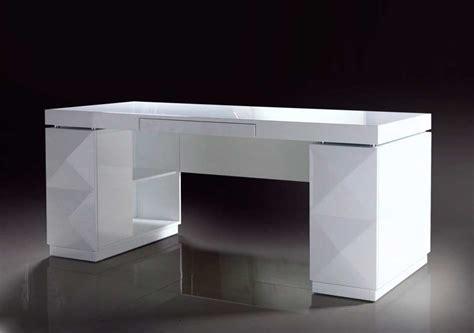 modern white office desk modern white lacquer office desk desks