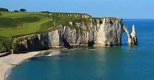 Sea Cliffs of Étretat, France
