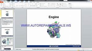 Hyundai I10 Service Training Manual
