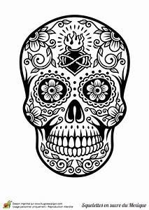 Tete De Mort Mexicaine Dessin : 25 best ideas about dessin tete de mort on pinterest ~ Melissatoandfro.com Idées de Décoration