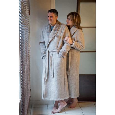 d馗or de chambre homme robe de chambre peignoir homme robe de chambre unie écossaise 100 val d 39 arizes maillots com