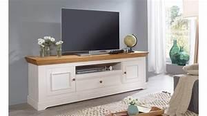 Lowboard Eiche Weiß : lowboard 1 glora tv board kiefer massiv wei gewachst eiche landhaus ~ Frokenaadalensverden.com Haus und Dekorationen
