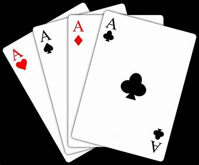 Playing Cards Clipart Ace Aces Clip Poker