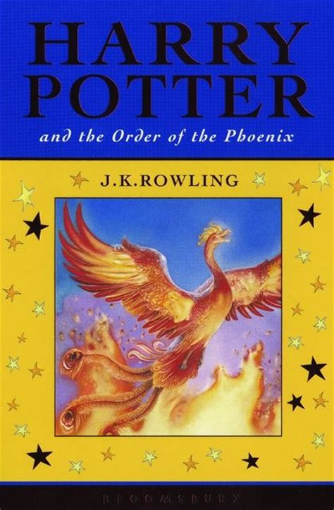 Harry Potter and the Order of the Phoenix: J.K. Rowling ...