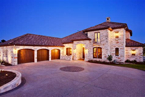 hill country contemporary  sterling custom homes
