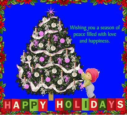 Card Happy Greetings Holiday Holidays Messages 123greetings
