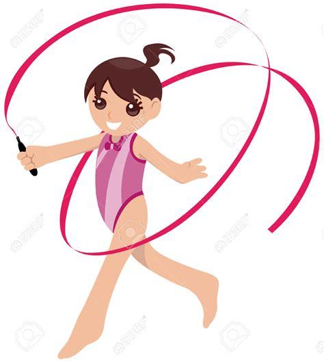 gymnastics clipart gymnast clipart vector pencil and in color gymnast