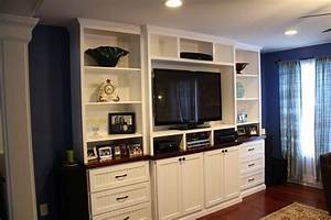 Build Your Own Custom Built In Entertainment Center