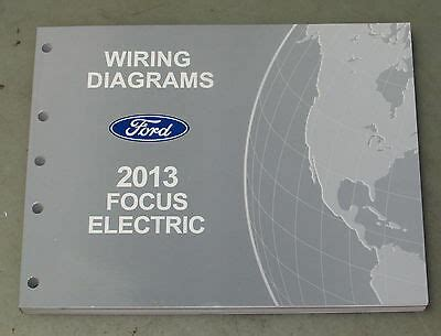 Ford Focus Electric Service Wiring Diagram Manual Ebay