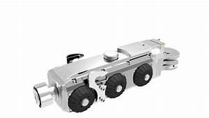 Pan And Tilt Sewer Pipe Inspection Camera Robot With