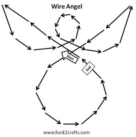 How to Make Wire Angels