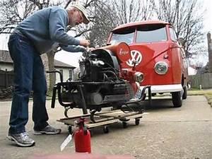 Starting My 1956 Ziegler Vw Industrial Engine Fire Brigade