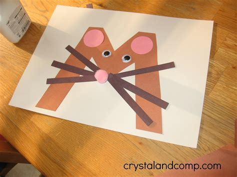 preschool mouse craft alphabet activities for preschoolers m is for mouse 764