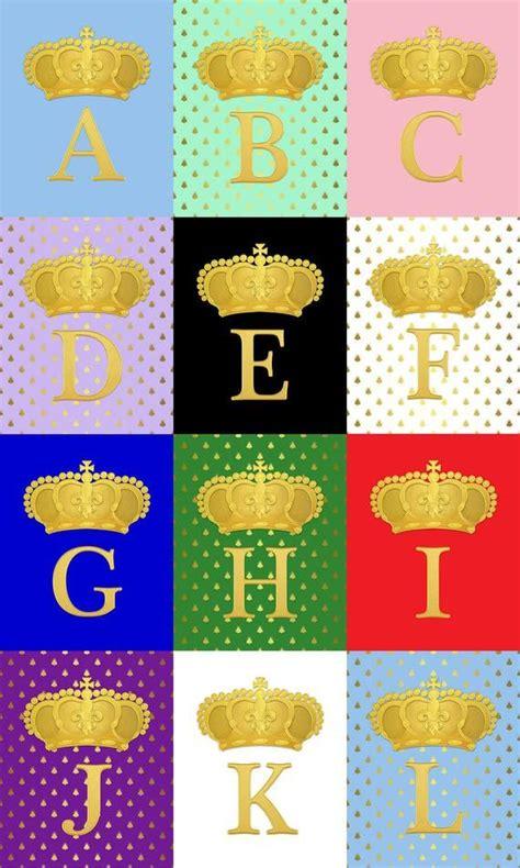 printable faux gold monogram letter                p           gold