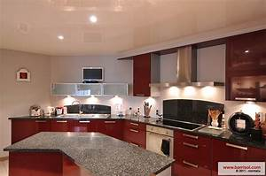 plafond de cuisine meilleures images d39inspiration pour With idees pour la maison 11 photos de plafond tendu dans votre piscine