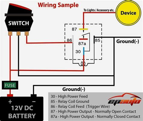 Motorcycle Horn Wiring Diagram by Wiring Diagram Car Horn Relay Wiring Diagram Car