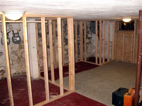 Stud Spacing And Framing Basement Walls  Home Decorations