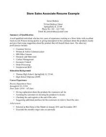 Retail Associate Resume Template Gallery For Gt Sales Associate Resume No Experience