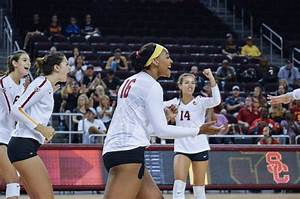 Women's volleyball goes to Westwood, upsets UCLA in five ...