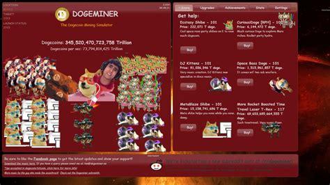 dogeminer  dogecoin mining simulator