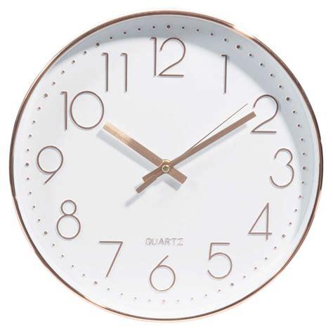 deco chambre mer horloge d 31 cm swaggy copper maisons du monde