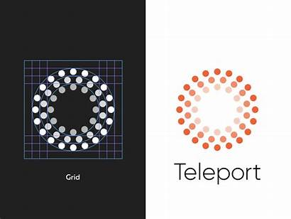 Teleport Dribbble Icon Vr Tattoo Monogram Javascript