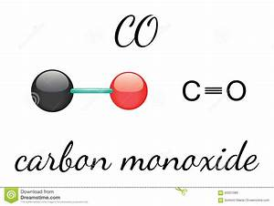 CO Carbon Monoxide Molecule Stock Vector - Image: 62051089