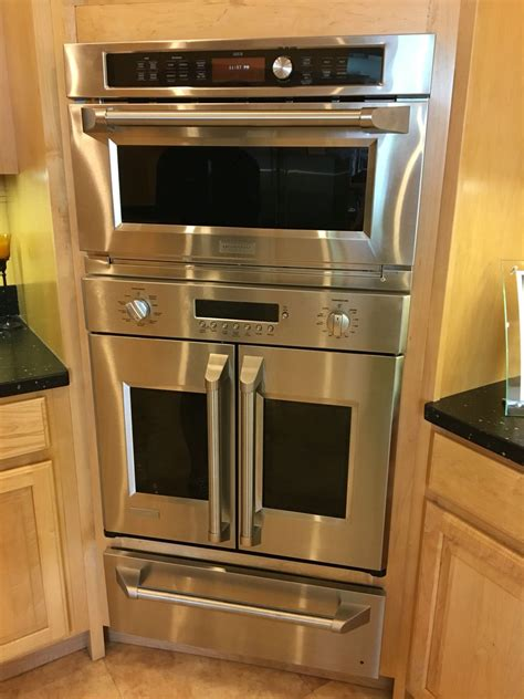 kitchen combo convmicrowave french door oven  warming drawer kitchen trends