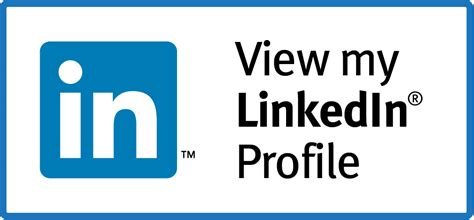 how to add a view my linkedin profile button to your