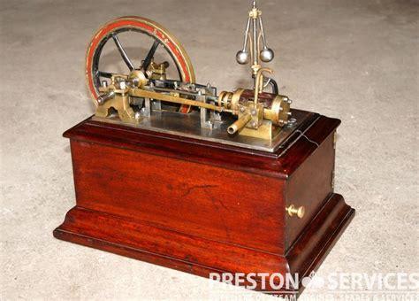 Model Single Cylinder Horizontal Workshop Engine   PRESTON