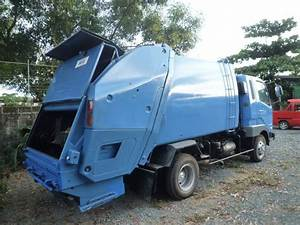 2001 Mitsubishi Fuso Fighter 4 Tons Garbage Compactor 6m61