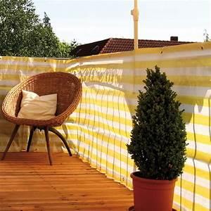 Sichtschutzmatten Kunststoff Meterware : balkonbespannung pp gelb wei sichtschutz ~ Eleganceandgraceweddings.com Haus und Dekorationen