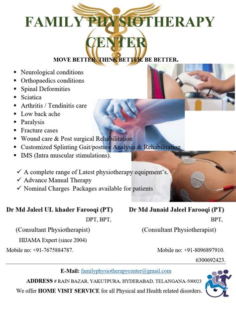 Family Physiotherapy Center - 7 Photos - Medical & Health ...