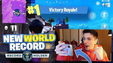 world record kills  mobile fortnite fortnite