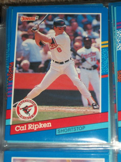 With only 60 games on the schedule and 16 teams headed to the playoffs, the races are intense. Cal Ripken 1991 Donruss baseball card
