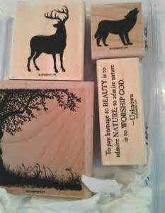 Nature Silhouettes Stampin Up Stamp Set