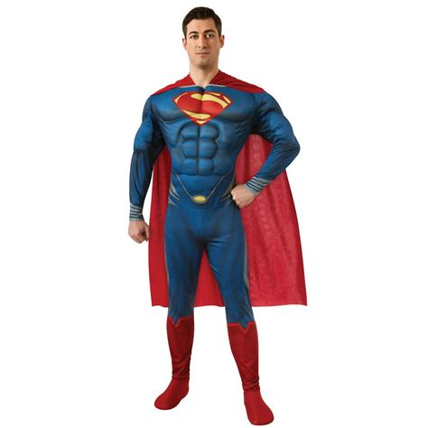 deluxe superman costume of steel