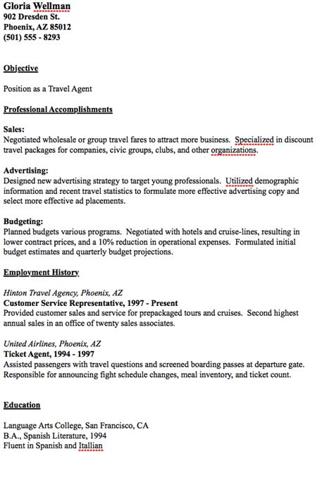 travel consultant resume australia template cover letter electrician ebook database