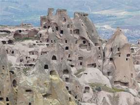 Ancient Caves in Turkey Houses